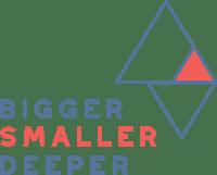 Bigger Smaller Deeper at Illuminate Community Church Logo